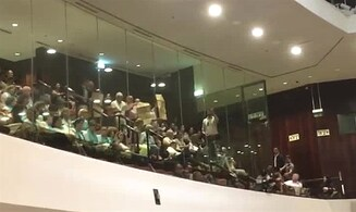Provocation in Knesset plenum