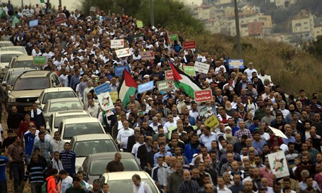 Islamic Movement march in Umm al-Fahm