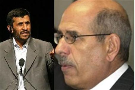 ElBareidi and Ahmadinejad