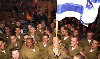 He got on a plane and joined the Israeli army
