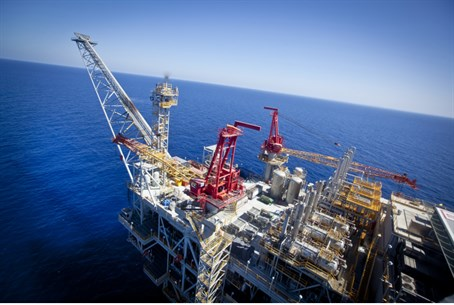 Israeli offshore gas field (file)