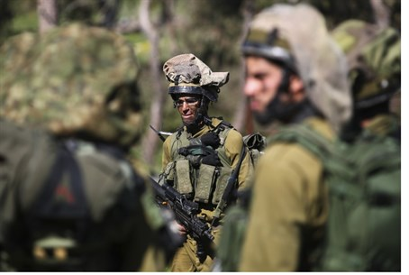 IDF soldiers on nothern border