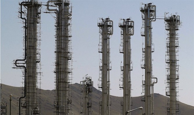 Iran's controversial heavy water production facility in Arak